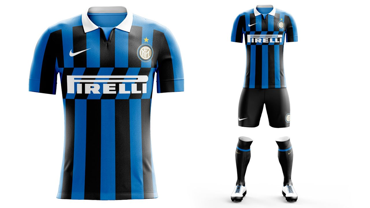 Inter unveil new shirt with no Icardi in sight   Forza Italian ...