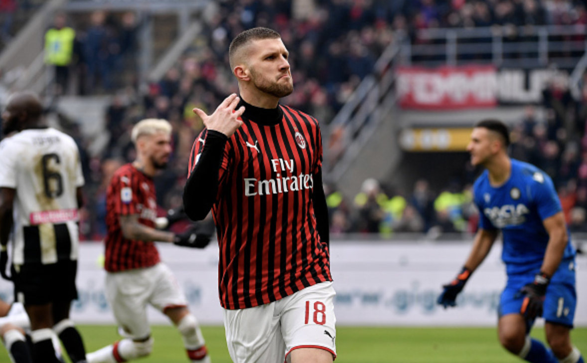 Late Rebic Strike Gives Ac Milan Win Over Udinese Forza Italian Football